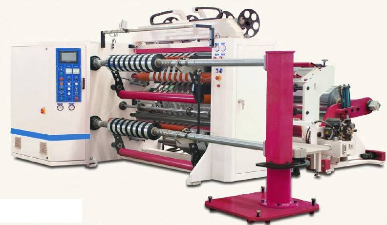PLC Controlled Packing Tape Slitting Machine