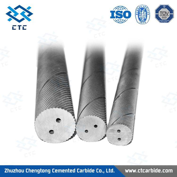 2014 hot sale hard alloy rod with hole made in China
