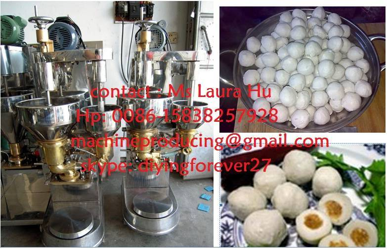 meat ball machine, fish meat ball machine /Chicken meat ball machine