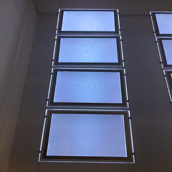Hight brightness light box for real estate advertisement