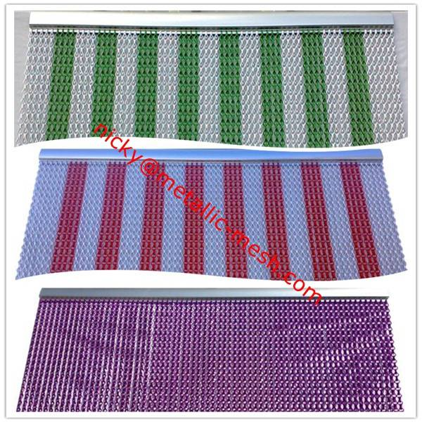 Decorative Aluminum Chain Door Insect & Fly Screen