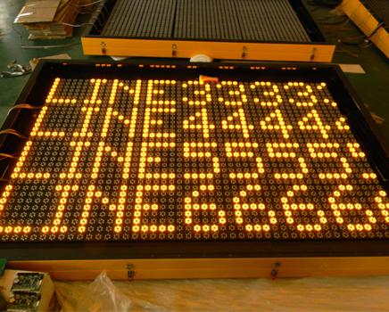 led display for VMSTrailer