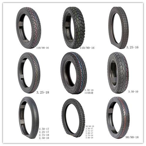 Shuo Tong Brand Motorcycle tubeless tires