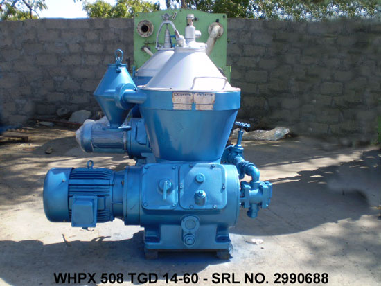 ALFA LAVAL WHPX 508