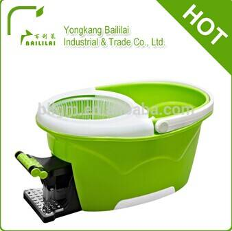 2014 best selling 360 cleaning floor mop bucket with durable handle