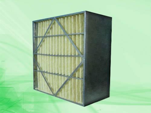 Medium efficiency box filter