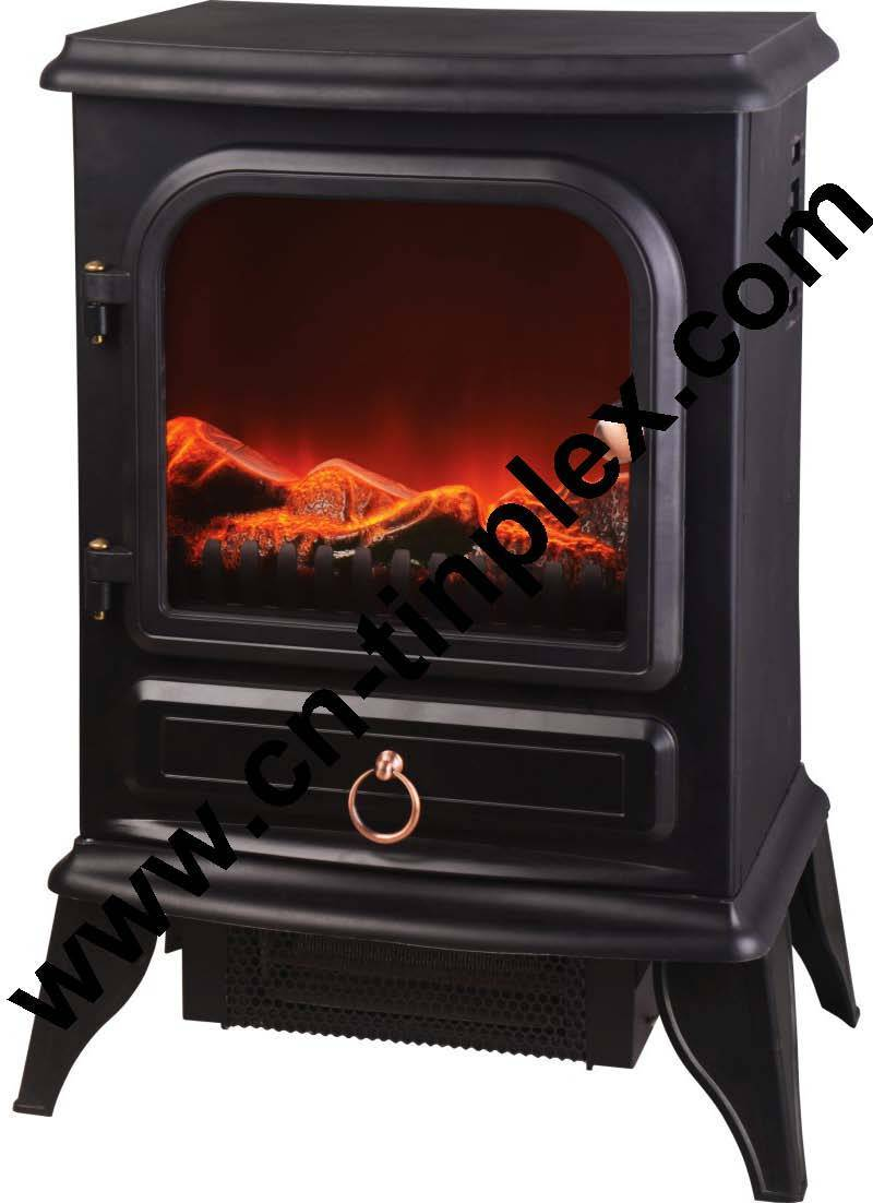 Top quality cheap freestanding electrical LED decorative flame fireplace Heater