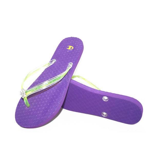 Fashion Violet Flip Flops Sandals Slippers BF0315B