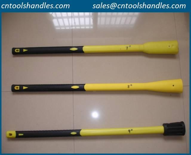 pickaxe fiberglass handle, composite picks handle