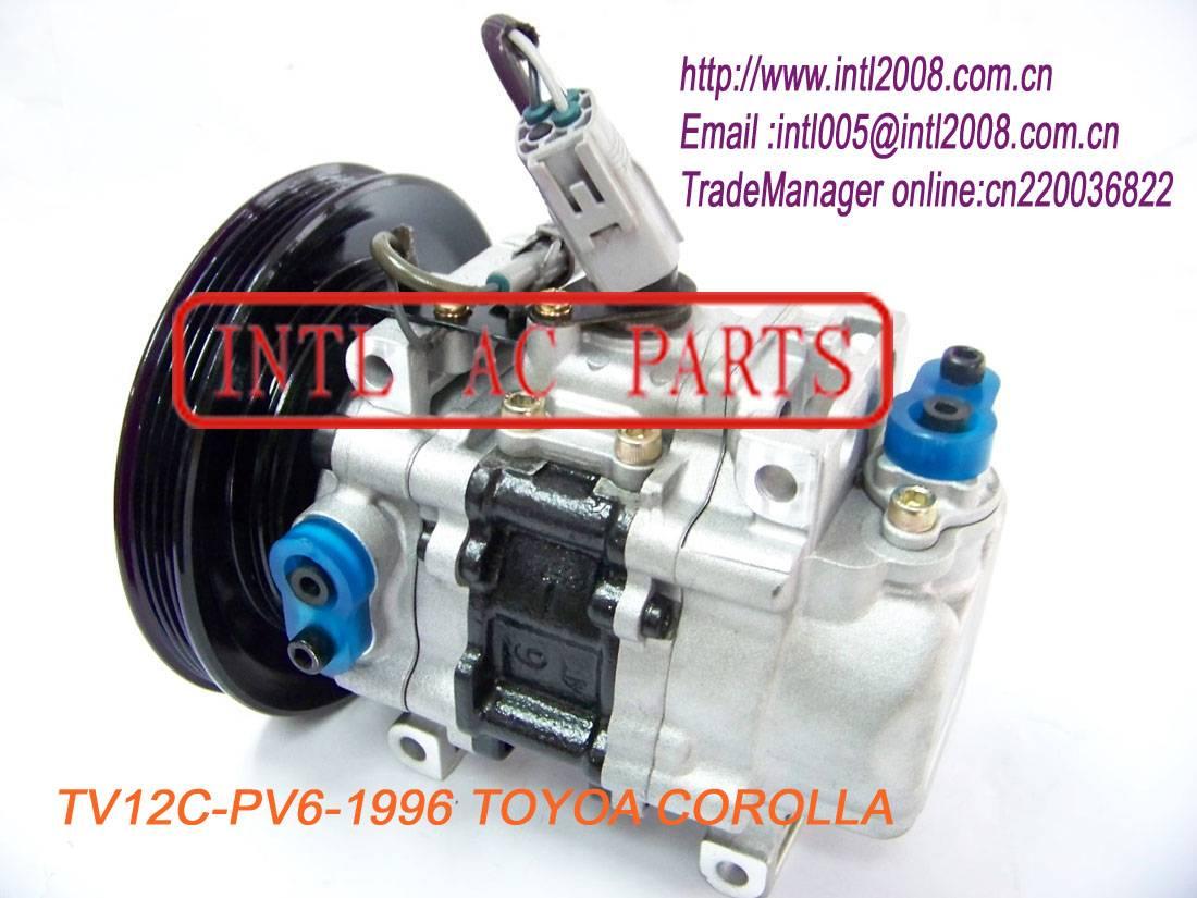TV12C-PV4 Compressor for Toyota Corolla 1996