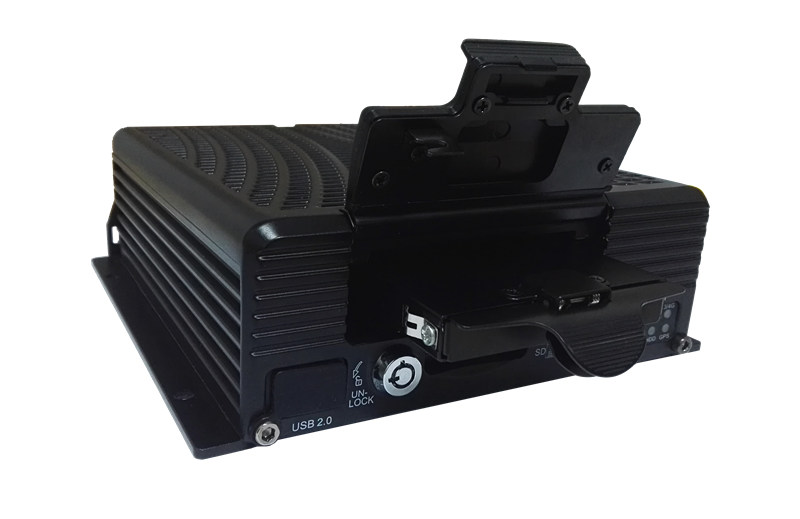 8CH 720P AHD HDD Mobile DVR with 1CH IPC 4G WiFi GPS functions