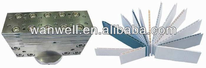 PVC ceiling panel extrusion mould