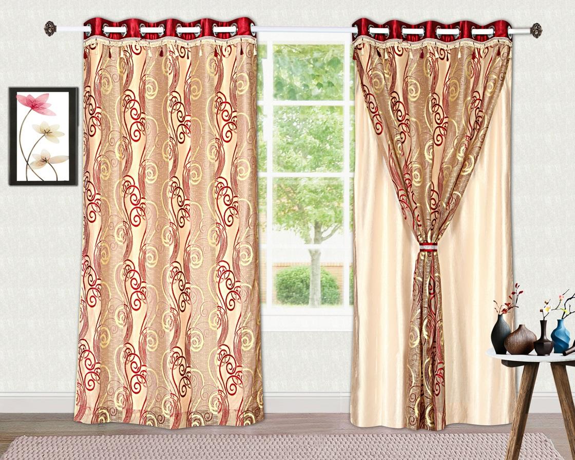 Tanyugg 2 in 1 Window/Door/Long Door curtain