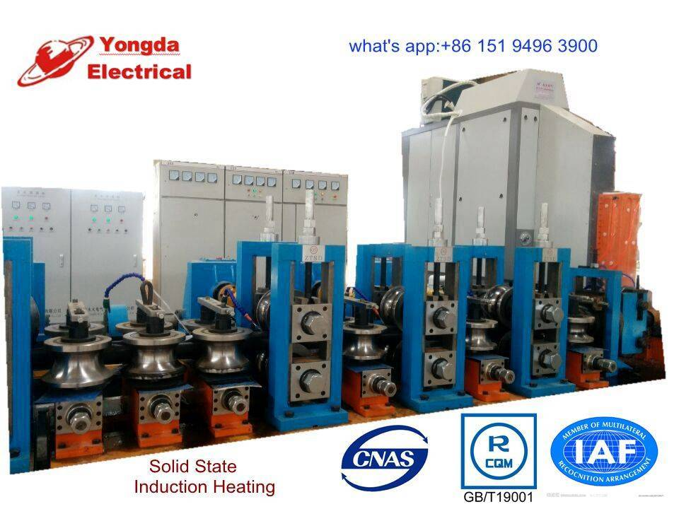 Straight seam welder for sale,power rating 60kw to 1800kw