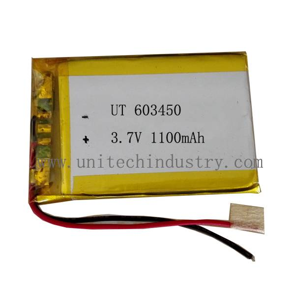 high quality Lithium battery UT603450 with 1100mAh