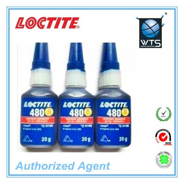 Loctite 480 Black instant adhesive 20g for rubber