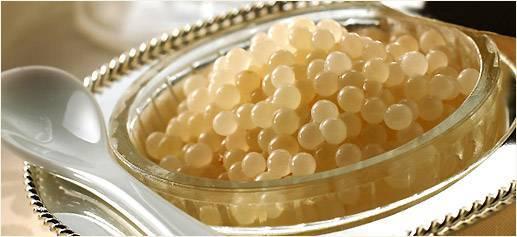 White Almas Caviar , Almas Osetra Caviar