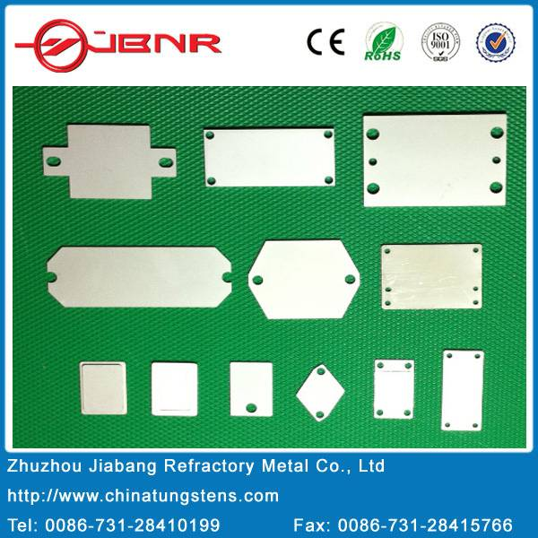 Semiconductor Mounting Base Plate Shell Cover Plate Mocu60 Moluybdenum Copper Base Plate
