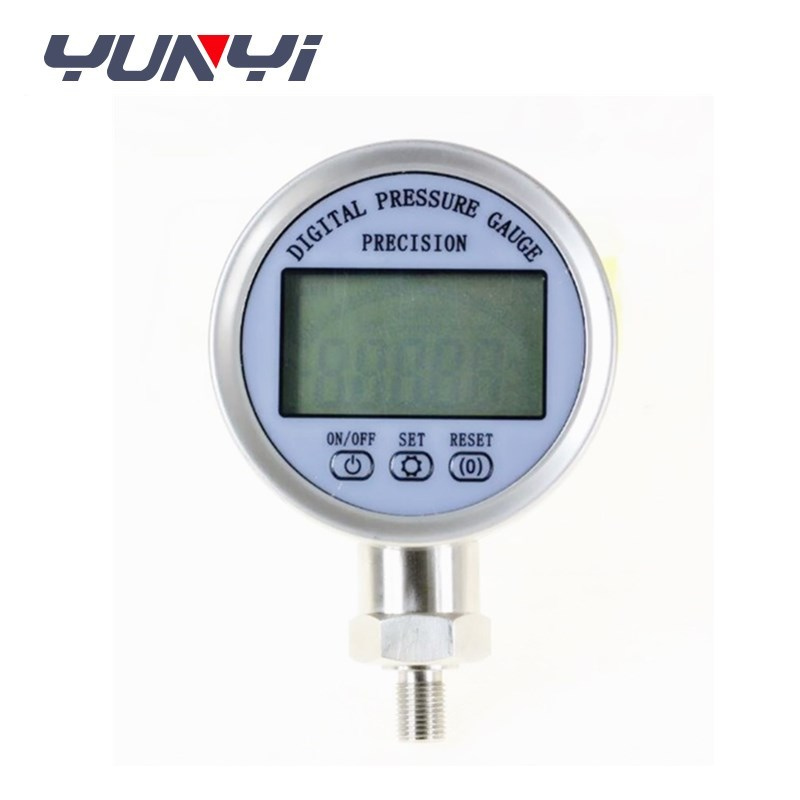 digital oil low pressure gauge sensor