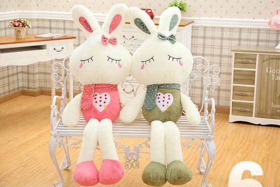 Plush soft stuffed toys custom bunny animals