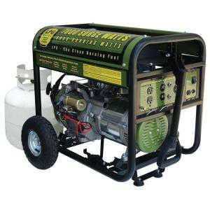 Sportsman 7,000 Peak-Watts Portable Propane Generator with Electric Start