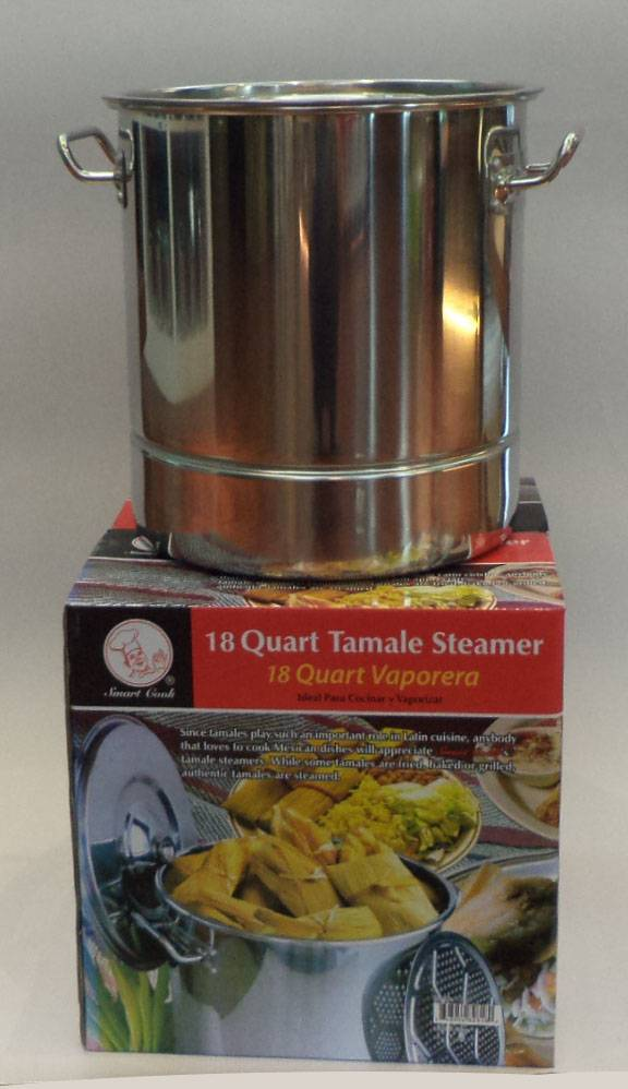 45qt stainless steel tamale steamer