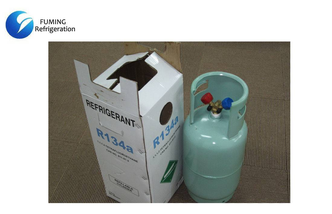 Pure HFC 134a / R134a Refrigerant Gas ISO Tank / Cylinder For Air Refrigeration