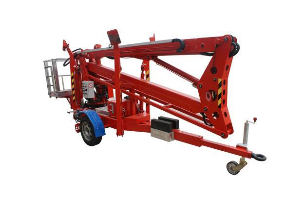 Trailer Mounted Boom Lifts