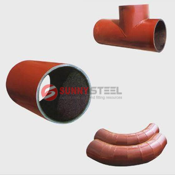 Ceramic Lining Pipe and Elbow