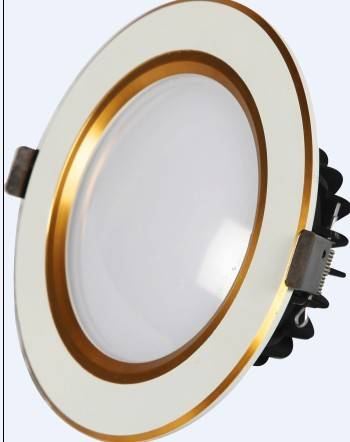 Led down light with low light decay
