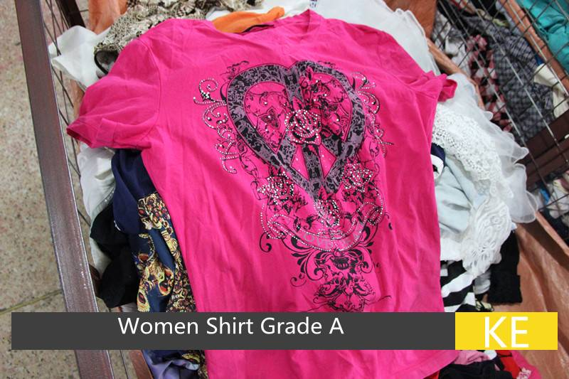 used women t shirt