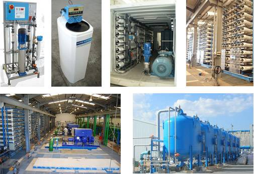 Containerized Reverse Osmosis Sea water Treatment Plant