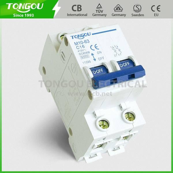 TOM10-63 series Mini Circuit Breaker