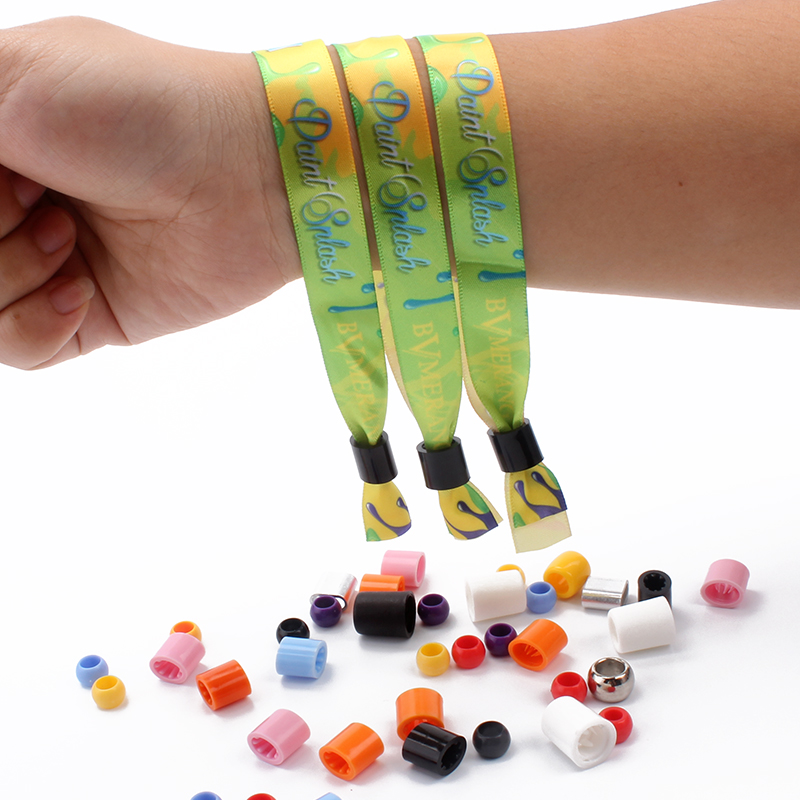 Professional Factory Direct Sale Custom Silk Wristbands for Events