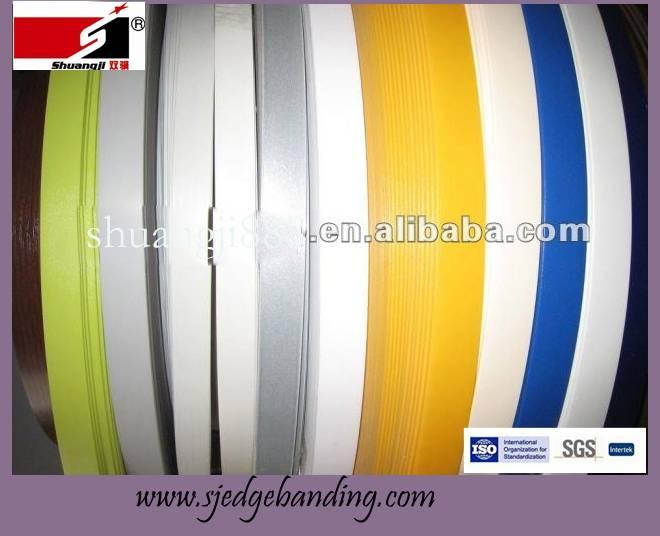 single color pvc edge banding