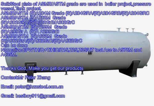 Sell :Spec ASTM/ASME SA299M steel plate,Grade,SA299GRA+N+HIC, A299GRB+HIC/Boiler steel plate