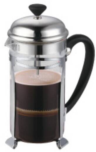 2014 New 1liter 304# Stainless steel french press coffee maker