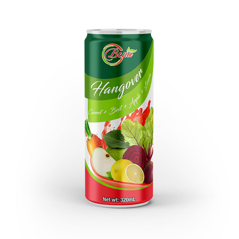 320ml canned vegetable juice a hangover of drinking from BENA beverage manufacturer
