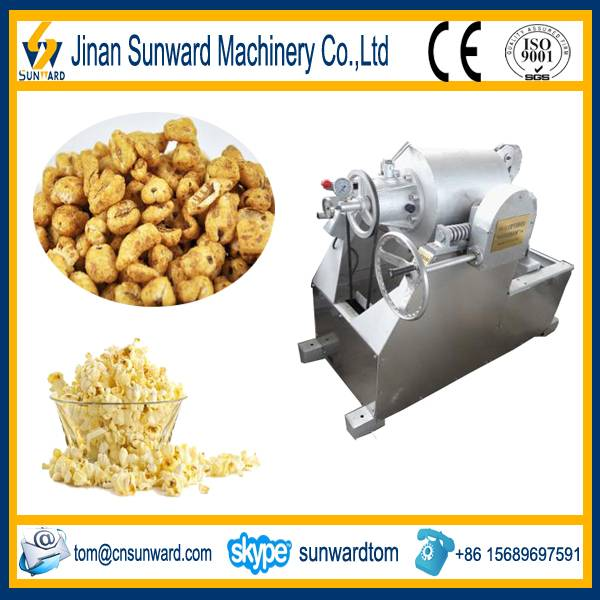 High quality stainless steel popcorn processing machine