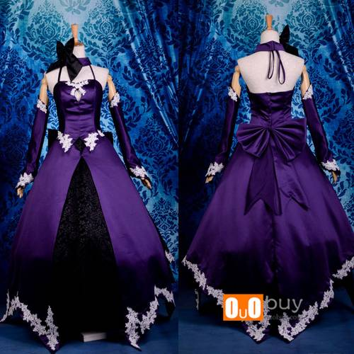 Selling Anime Cosplay Costume Saber Type-moon Saber Alter 2nd Version Cosplay Costume