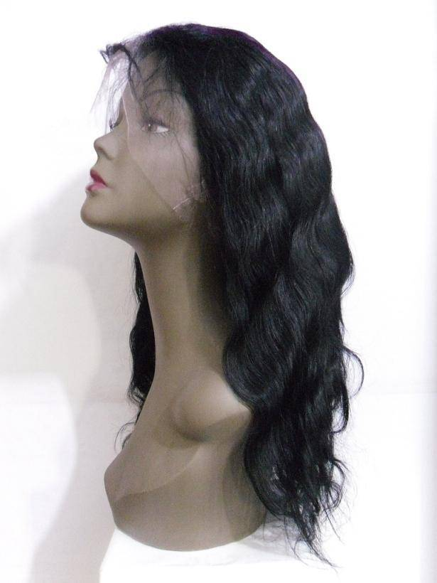 Cheap 100% human hair full lace wigs in stock