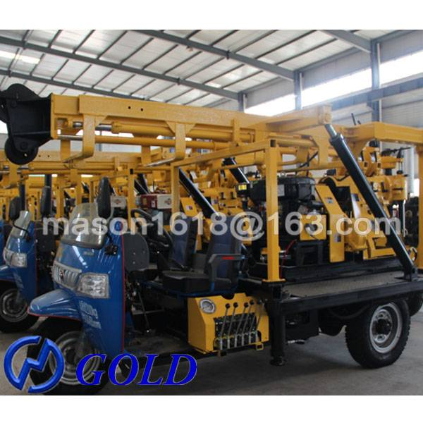 High Quality Strong Three Wheel XYC-200A Soil Testing Drilling Rig