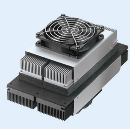 TEC thermoelectric cooler with heat sink
