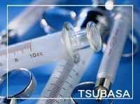 Glass Syringes are available
