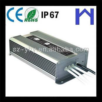 IP67 waterproof power supply 24V 200W 8.33A for outdoor use LED lighting