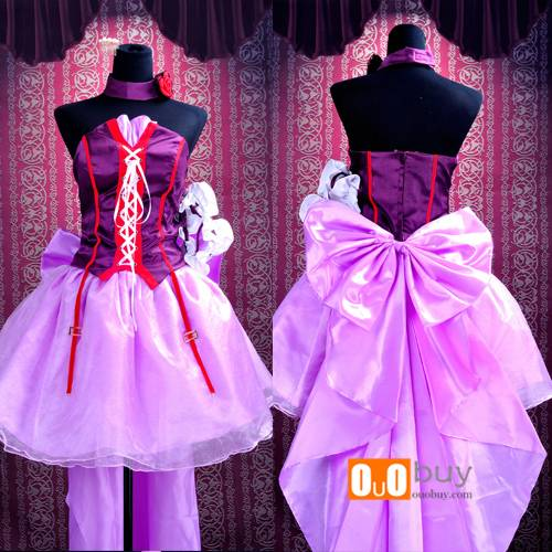 The Super Dimension Fortress Macross Sheryl Nome Singing Final Version Lolita Cosplay Costume
