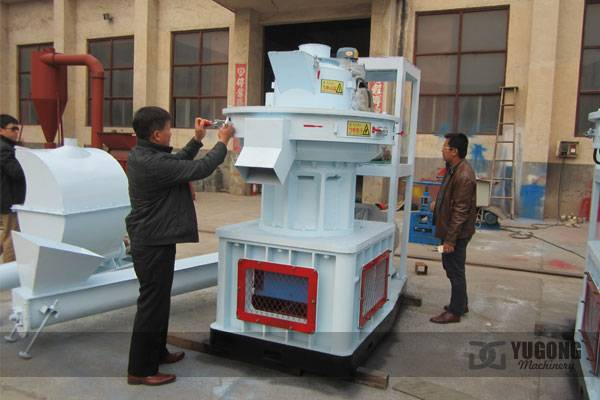 Pellet Machine LGX-450 for Asia Market