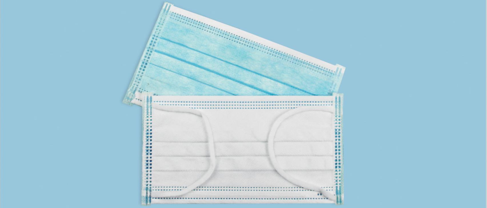 disposable medical face mask
