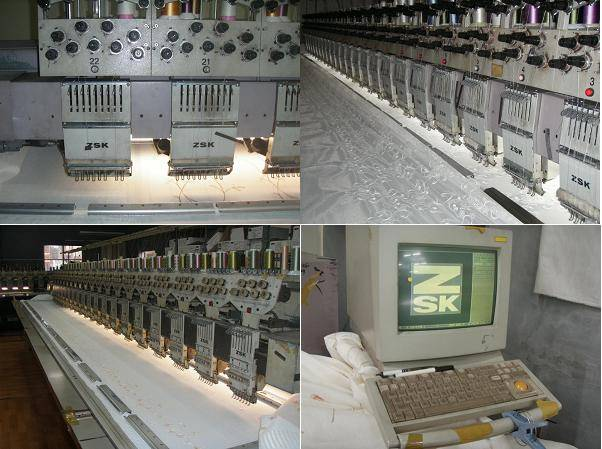 3SET ZSK 1SET SWF EMBROIDERY MACHINES FOR SELL