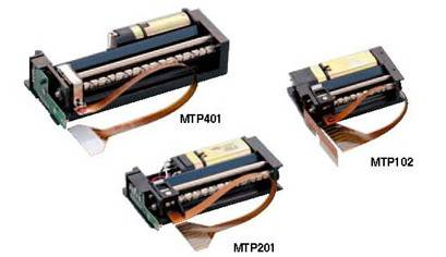 Japanese seiko MTP201-20 B thermal printing machine, the print head